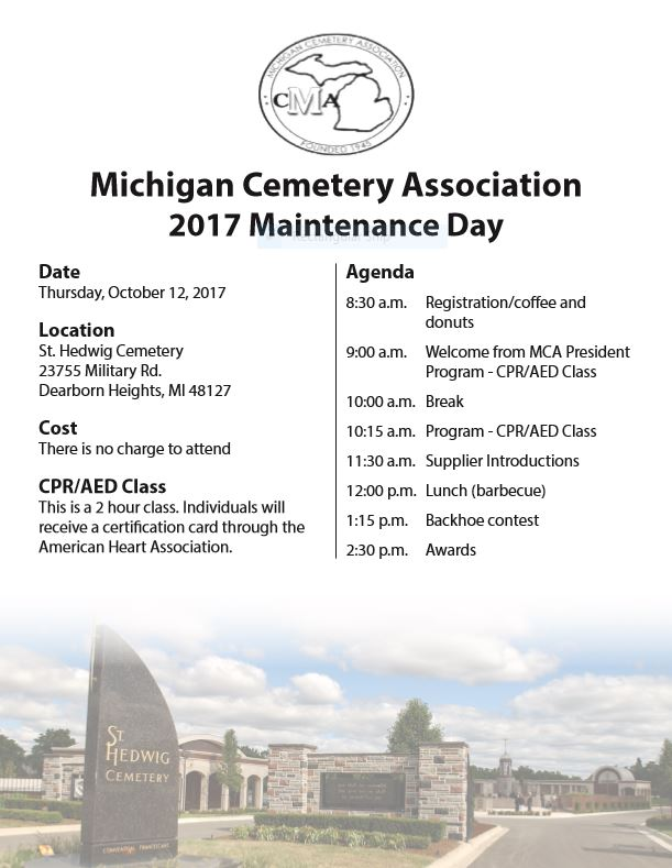 MCA 2017 Maintenance Day